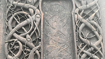Woodcarvings,  Urnes Stave Church