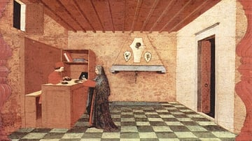 Miracle of the Desecrated Host by Uccello