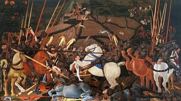Battle of San Romano by Uccello
