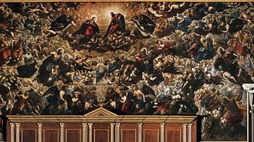 Paradise by Tintoretto