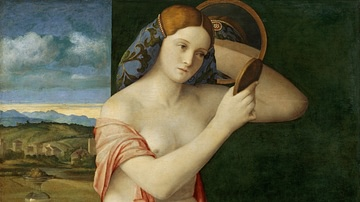 Lady at Her Toilet by Giovanni Bellini