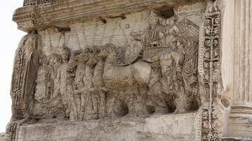 Chariot Panel, Arch of Titus