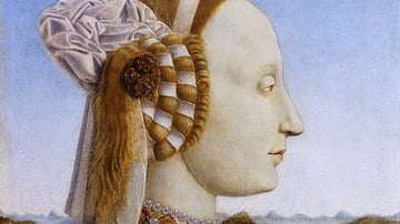 Battista Sforza by Piero della Francesca