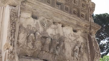 Temple of Solomon Treasure, Arch of Titus