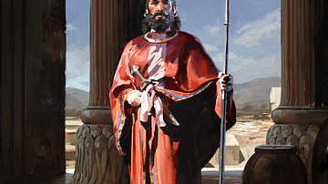 Cyrus the Great (Artist's Impression)