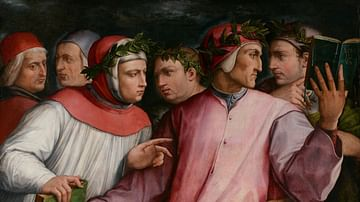Six Tuscan Poets by Vasari