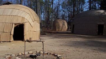 Jamestown Settlement - Powhatan Village
