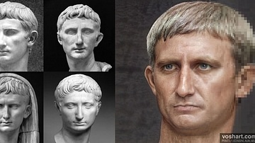 Augustus (Aged Facial Reconstruction)