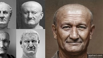Vespasian (Facial Reconstruction)