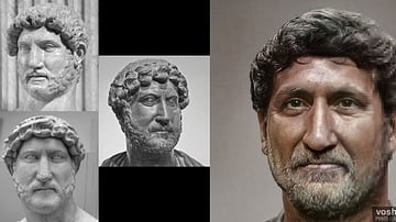Hadrian (Aged Facial Reconstruction)