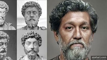 Marcus Aurelius (Facial Reconstruction)