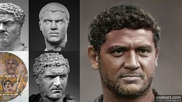 Caracalla (Facial Reconstruction)