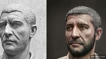Philip the Arab (Facial Reconstruction)