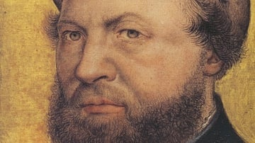 Portrait of Hans Holbein the Younger