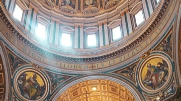 Nave of Saint Peter's Basilica, Rome