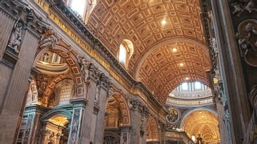 Maderno's Nave, Saint Peter's Basilica, Rome