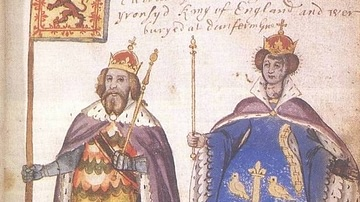 Malcolm III and Queen Margaret of Scotland