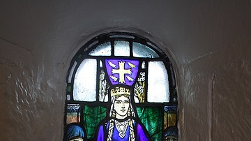 Saint Margaret of Scotland Stained Glass Window