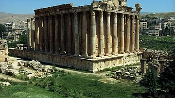 Temple of Baachus, Baalbek