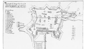 Plan of Fort St. George