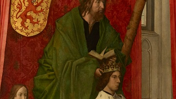 James III of Scotland with St. Andrew
