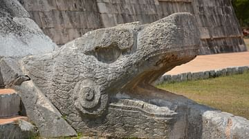 Kukulcan Sculpture, Chichen Itza