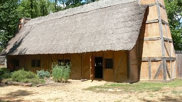 Reconstruction of Mount Malady, Henricus Colony
