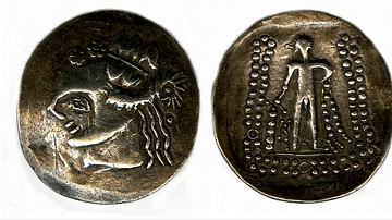 Celtic Coin Showing Hercules