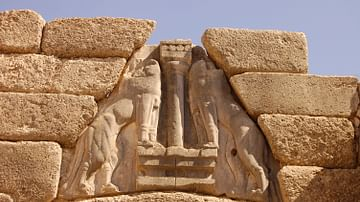 Lions Gate Detail (Mycenae)