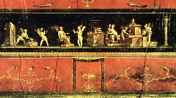 Cupid Frieze, House of the Vettii, Pompeii