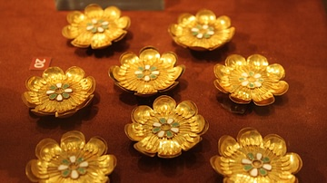 Gold Rosettes for Ancient Greek Clothing