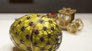 A Gallery of Fabergé Eggs