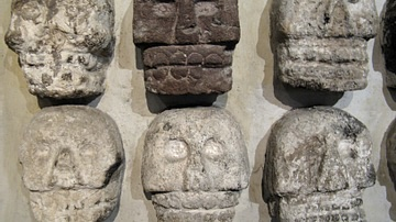 Aztec Skulls, Templo Mayor
