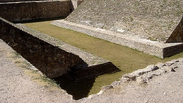 Ball Court, Monte Alban