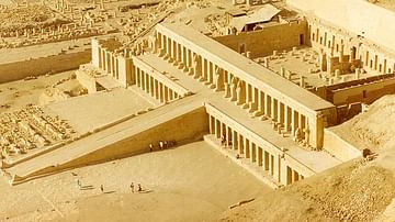 The Temple of Hatshepsut
