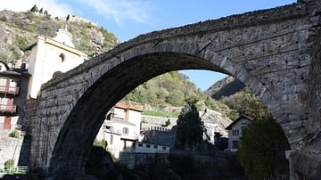 Roman Bridge, Pont-Saint-Martin