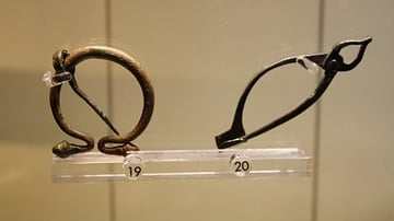 Roman Bronze Brooches