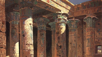 The Temple of Isis on Philae Island