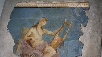 Apollo Playing the Kithara