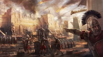 Roman Siege Warfare