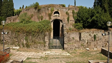 Doorway, Mausoleum of Augustus