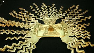 Inca Gold Sun Mask