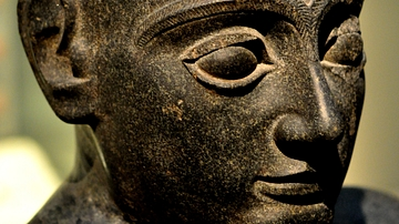 Head of Dolerite Statue of Gudea of Lagash