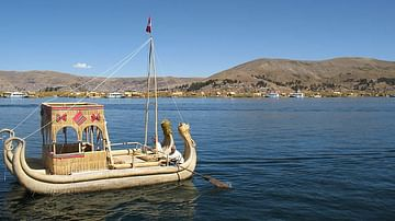 Traditional Reed Raft, Lake Titicaca