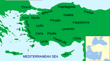 The Regions of Ancient Anatolia