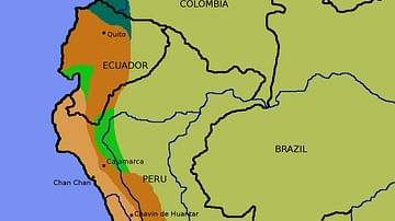 Inca Civilization - Ancient History Encyclopedia on greece map, inca warriors, lima map, inca city, inca buildings, inca pyramids, inca people, inca roads, chimu map, inca civilization, brazil map, tenochtitlan map, inca houses, inca trail, mesoamerica map, inca food, china map, inca crops, inca art, inca flag,