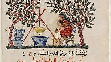Ancient Mesopotamian Pharmacist Prepares Elixir