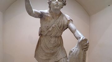 Statue of tauroctony  (Mithras slaying the bull)