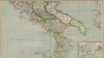 Map Of The Roman Conquest Of Italy Illustration Ancient History
