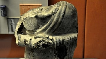 Male Torso Sculpture from Sippar